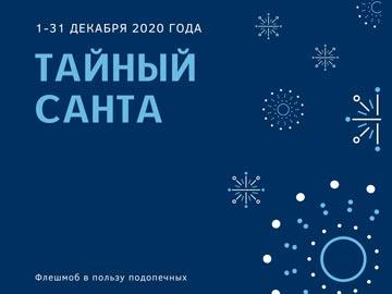 """1 декабря стартовал новогодний флешмоб """"Тайный Санта"""""""
